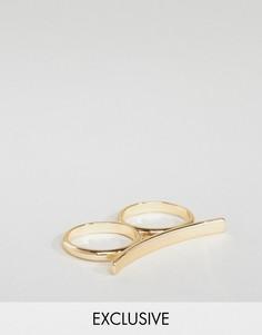 Золотистое кольцо DesignB - Золотой
