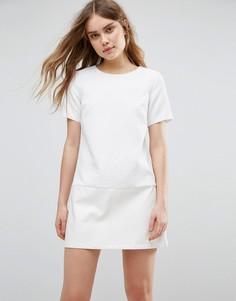 Кружевное цельнокройное платье Traffic People - Белый