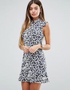 Цельнокройное платье с цветочным принтом Unique 21 - Мульти