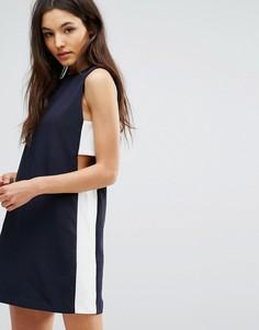 Платье-туника со вставками по бокам Hedonia - Темно-синий