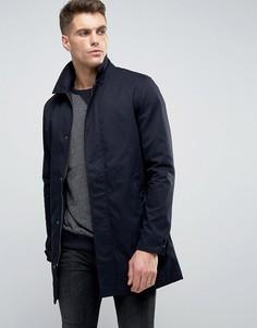 Классическая куртка-макинтош Brave Soul - Темно-синий