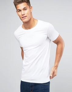 Белая футболка Lindbergh - Белый