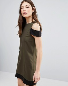 Цельнокройное платье Hedonia - Зеленый