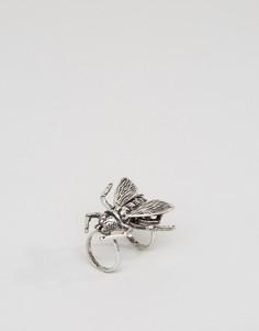 Кольцо с соединенным дизайном Cheap Monday - Серебряный