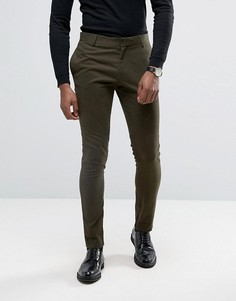 Супероблегающие брюки Religion - Зеленый