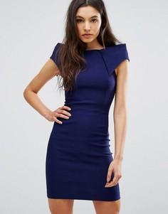 Платье-футляр Vesper - Темно-синий