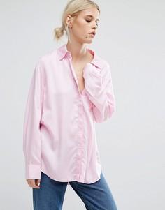 Рубашка Weekday - Розовый