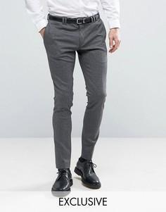 Супероблегающие трикотажные брюки Noak - Серый