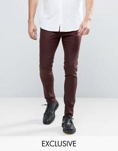 Супероблегающие строгие брюки Noak - Коричневый