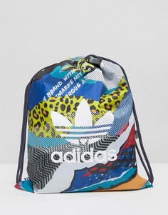 Спортивный рюкзак с принтом adidas Originals BQ0662 - Мульти