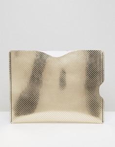 Чехол для iPad Mini Leather Satchel Company - Серебряный