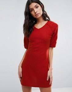 Платье-трапеция Pussycat London - Красный