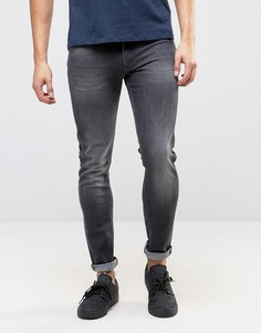 Зауженные джинсы Calvin Klein Jeans - Черный