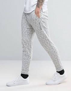 Трикотажные спортивные брюки с манжетами Hollister - Серый