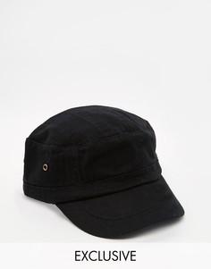 Черная кепка Reclaimed Vintage Army - Черный