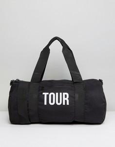 Сумка Reclaimed Vintage Tour - Черный