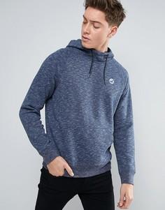 Темно-синее худи стандартного кроя с логотипом на груди Hollister Core - Темно-синий