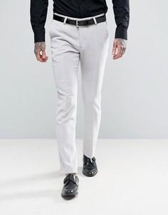 Суперузкие бархатные брюки Noose & Monkey - Белый