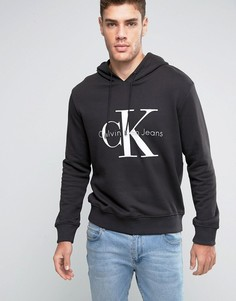 Худи Calvin Klein Jeans Re-Issue - Черный