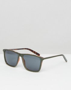 Квадратные солнцезащитные очки AJ Morgan - Зеленый