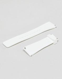 Белый кожаный ремешок Michael Kors Dylan - Белый