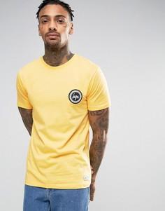 Футболка с логотипом Hype - Желтый