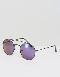 Солнцезащитные очки-авиаторы AJ Morgan - Черный