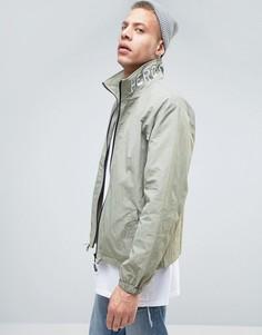 Куртка с вышивкой на воротнике Heros Heroine - Зеленый