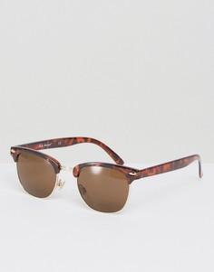 Солнцезащитные очки в стиле ретро AJ Morgan Soho - Коричневый