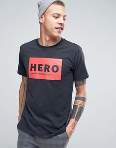 Футболка Heros Heroine - Черный