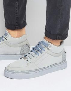 Замшевые кроссовки Ted Baker Komett - Серый