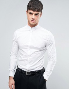 Строгая белая рубашка New Look - Белый