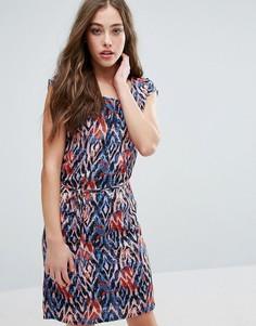 Цельнокройное платье с принтом Blend She Damian - Мульти