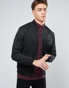 Черная куртка-пилот New Look - Черный