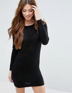 Платье-джемпер Blend She Max - Черный