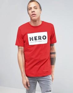 Футболка Heros Heroine - Красный