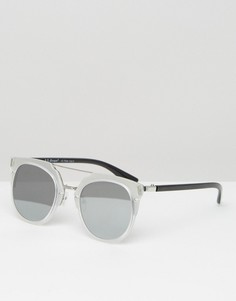 Круглые солнцезащитные очки AJ Morgan - Прозрачный