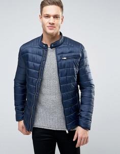Стеганая куртка Selected Homme - Темно-синий