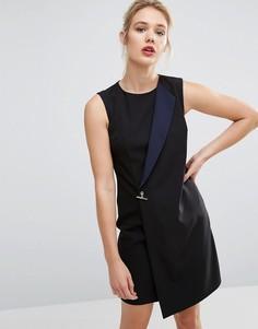 Платье в стиле смокинга Ted Baker - Черный