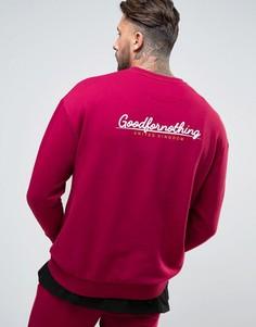 Свитшот с логотипом Good For Nothing - Красный