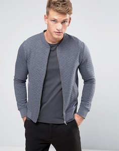 Стеганая куртка-пилот Jack & Jones Premium - Темно-синий