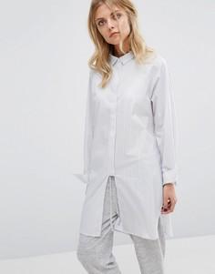 Рубашка в полоску Selected - Мульти