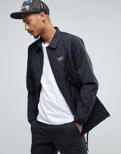 Черная стеганая куртка Van VA2WGBBLK - Черный Vans