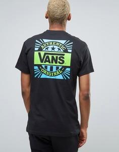 Черная футболка с принтом на спине Vans 50th Anniversary VA2XD7BLK - Черный