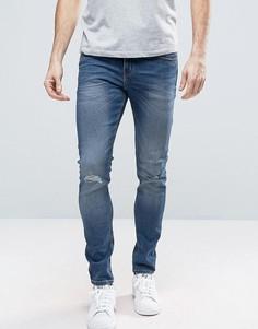 Синие джинсы Cheap Monday Serene - Синий