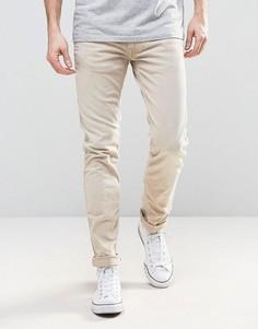 Песочные джинсы слим Replay Anbass - Бежевый