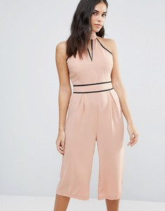 Комбинезон с широкими штанинами Influence - Розовый