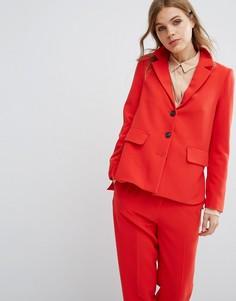 Комбинируемый блейзер Selected - Красный