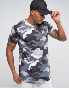 Камуфляжная футболка Good For Nothing - Серый