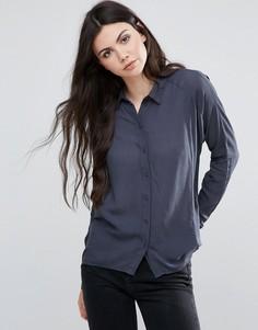 Рубашка Vila - Синий
